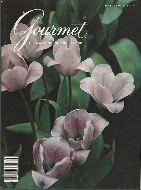 Gourmet Magazine May 1980 Holland's Spring Flowers sandwichs Chives Hens Dorset