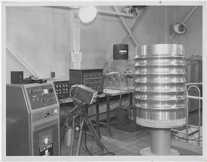 Original Photograph of Saturn Rocket Laboratory, Marshall Space Flight Center