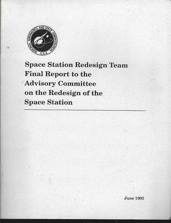 Space Station Redesign Team Final Report to the Advisory Committee June 1993