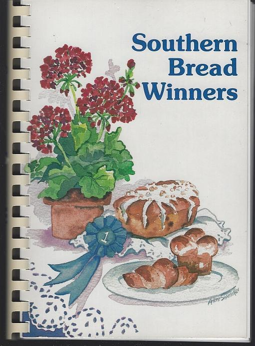 Southern Bread Winners by Linda Hatcher 1992 Cook Book Illustrated Recipes