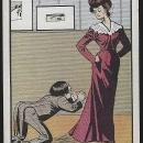 Vintage Undivided Shakespeare Quote Comic Postcard You Play the Spaniel