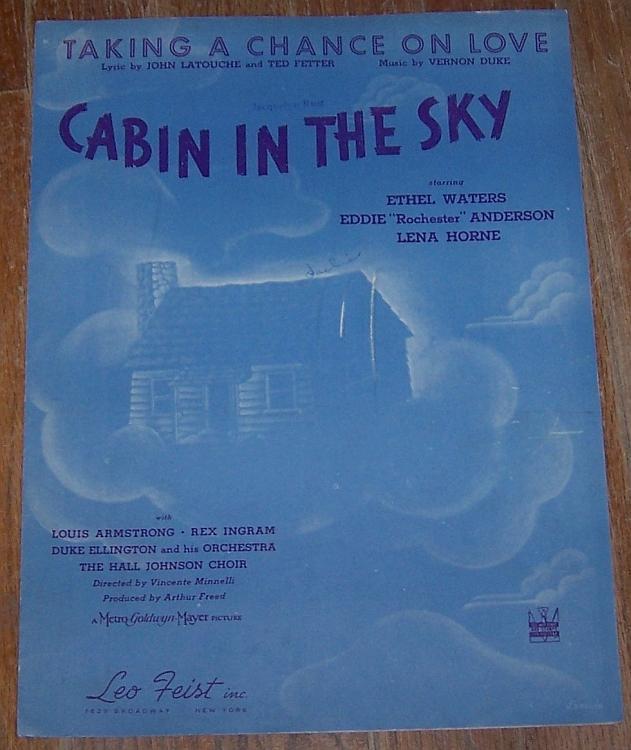 Taking a Chance on Love Cabin in the Sky Ethel Waters/Lena Horne/Duke Ellington