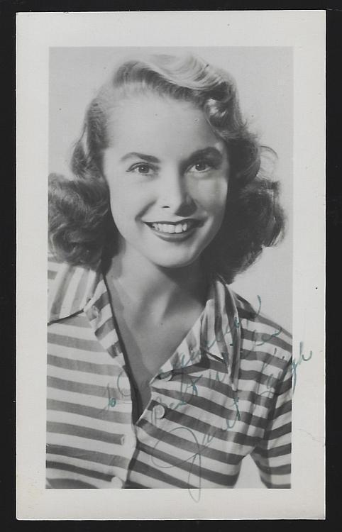 Actress Janet Leigh Vintage Original Wallet Sized Studio Photograph Movie Star