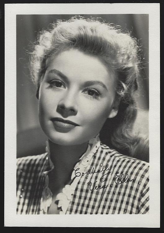 Vintage Studio Photograph of Actress Vera Ellen