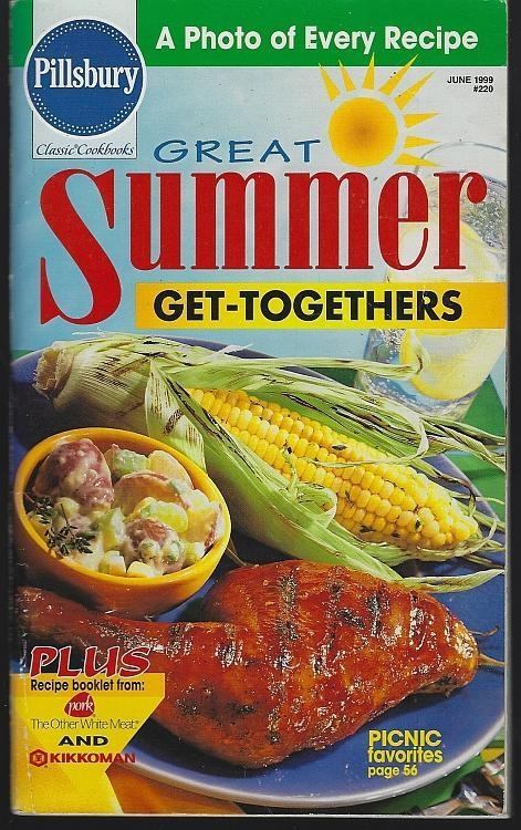 Pillsbury Great Summer Get Togethers 1999 Illustrated Cookbook Recipes