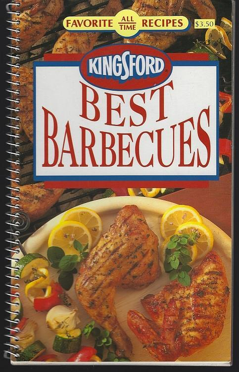 Kingsford Charcoal Best Barbecues Illustrated Cookbook Outdoor Favorite Recipes