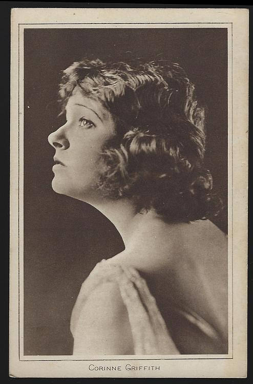 Vintage Postcard of Actress Corinne Griffith