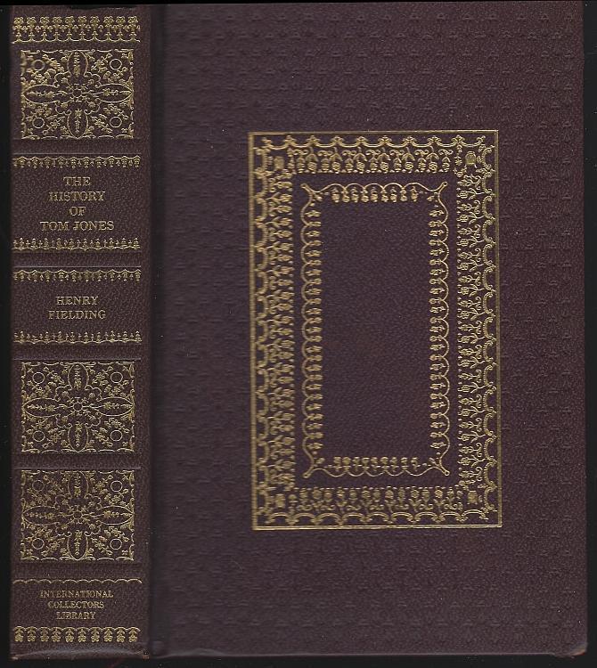 Tom Jones a Foundling by William Fielding Decorative Binding Classic Novel