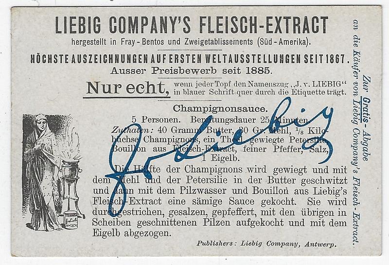 Victorian Trade Card Liebig Company's Fleisch-Extract Ladies