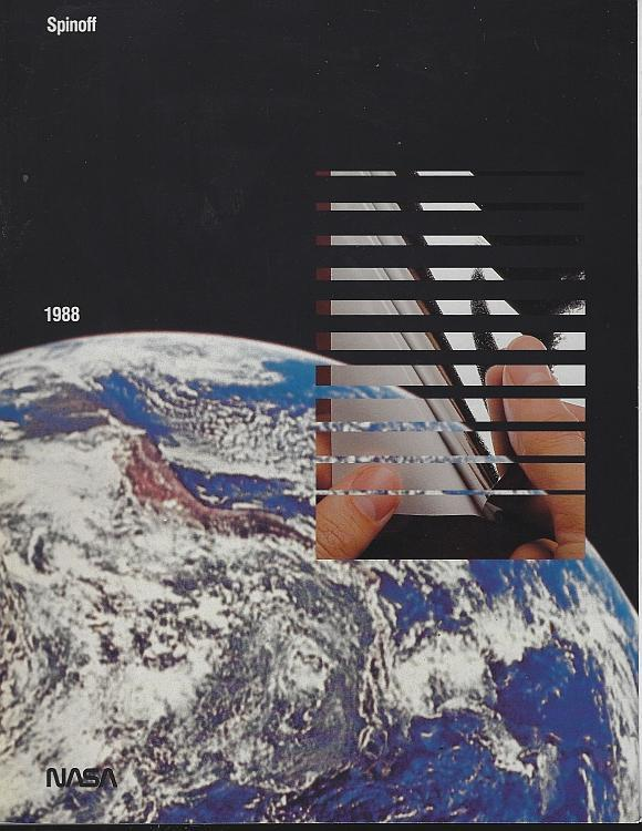 NASA Spinoff 1988 by James Haggerty Space Exploration Aerospace Aims Technology