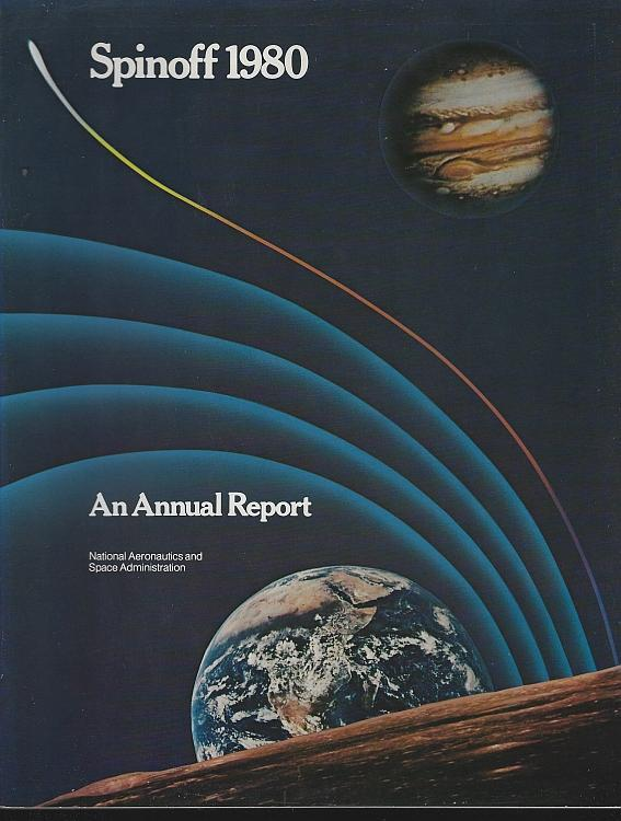 NASA Spinoff 1980 by James Haggerty Space Exploration Aerospace Aims Technology
