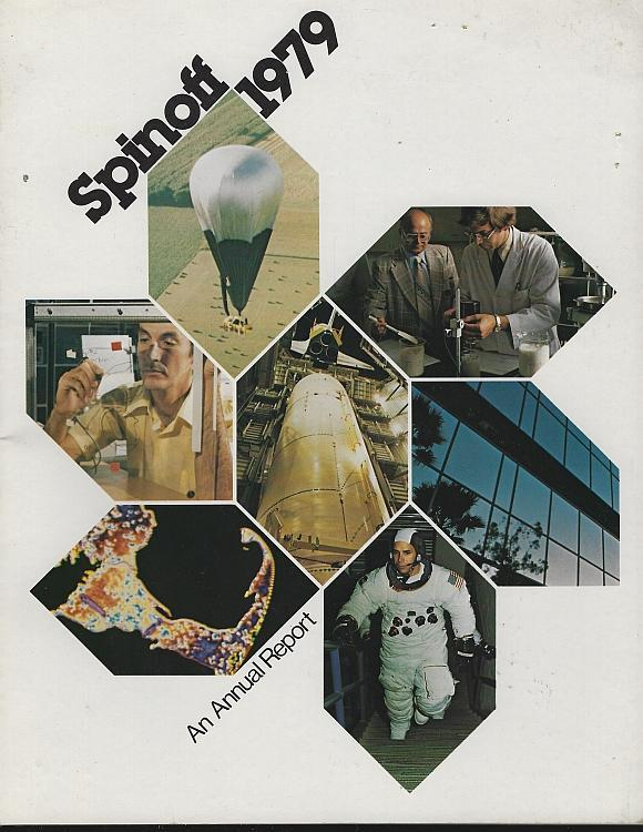 NASA Spinoff 1979 by James Haggerty Space Exploration Aerospace Aims Technology