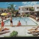 Vintage Unused Postcard Escape Hotel, Fort Lauderdale, Florida On the Beach