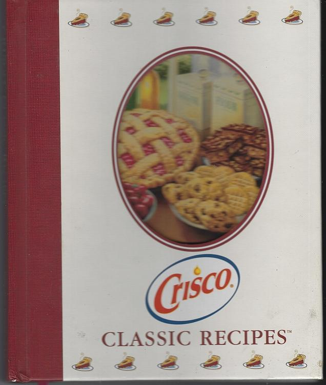 Crisco Classic Recipes 2003 1st edition Cookbook Vintage Illustrated Baking