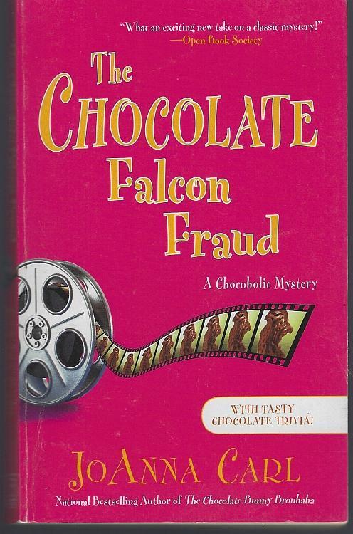 Chocolate Falcon Fraud by Joanna Carl 2016 Chocoholic Cozy Mystery #15