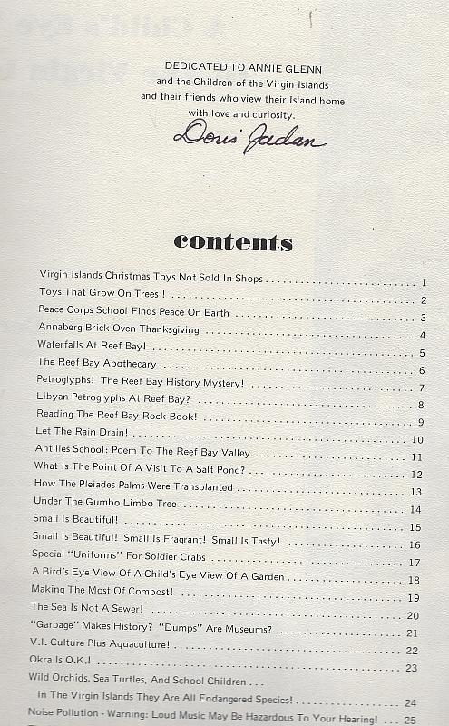 Child's Eye View of the Virgin Islands Signed Limited Edition Doris Jadan 1978