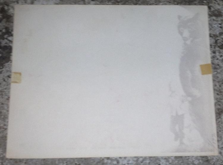 Lobby Card for Movie Gentle Giant Starring Clint Howard, Dennis Weaver 1967
