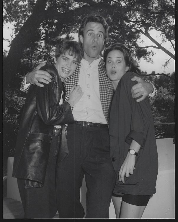 Colleen Dion Todd Mckee Jane Rogers Bold Beautiful Soap Opera Vintage Photograph