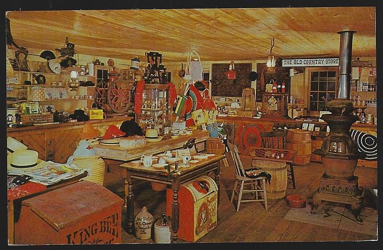 Old Village Store, Bird in Hand, Pennsylvania Penn Dutch Unused Vintage Postcard