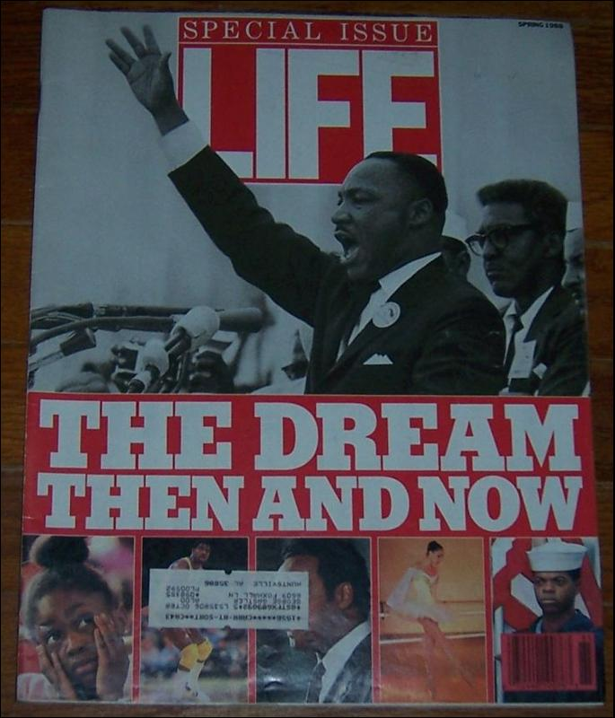 Life Magazine Special Issue Spring 1988 The Dream Then and Now on the Cover