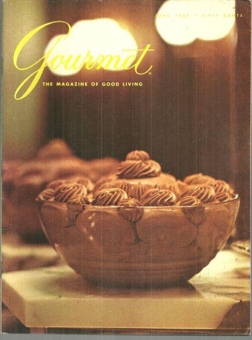Gourmet Magazine June 1969 Roasting Chicken and Turkey with James Beard