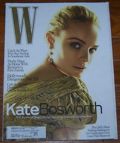 W Magazine July 2006 Kate Bosworth on Cover