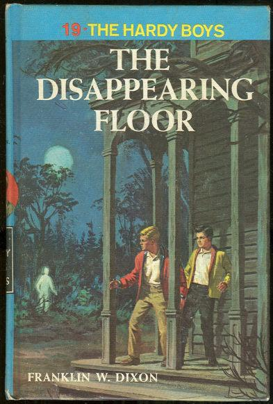 Disappearing Floor by Franklin Dixon 1964 Hardy Boys #19 Matte Blue Cover