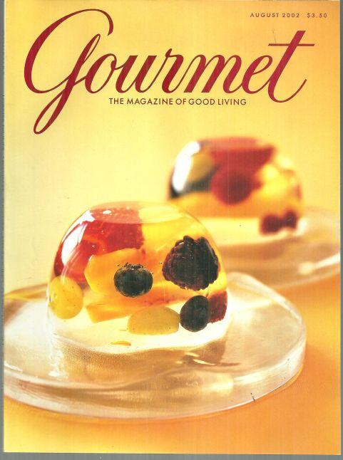 Gourmet Magazine August 2002 South Africa Safari and Summer Cooking