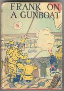 Frank On a Gunboat by Harry Castlemon in Dust Jacket