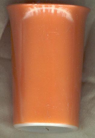 Hazel Atlas Ovide Rust Color Tumbler