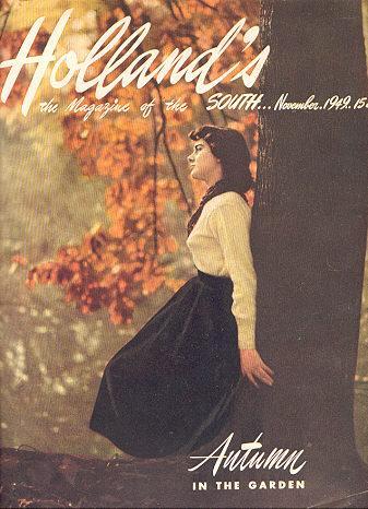 Holland's Magazine November 1949 Autumn in the Garden