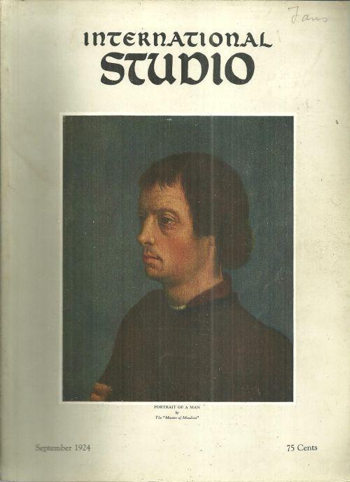 International Studio Magazine September 1924 Two English Fan Designers/Furniture