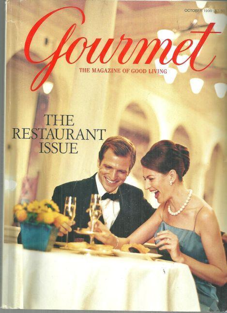 Gourmet Magazine October 1999 The Restaurant Issue Daniel of New York On Cover