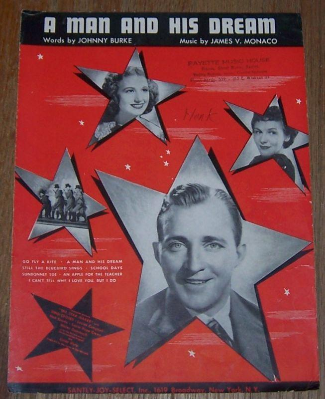 Man and His Dream From The Star Maker starring Bing Crosby Louise Campbell 1939