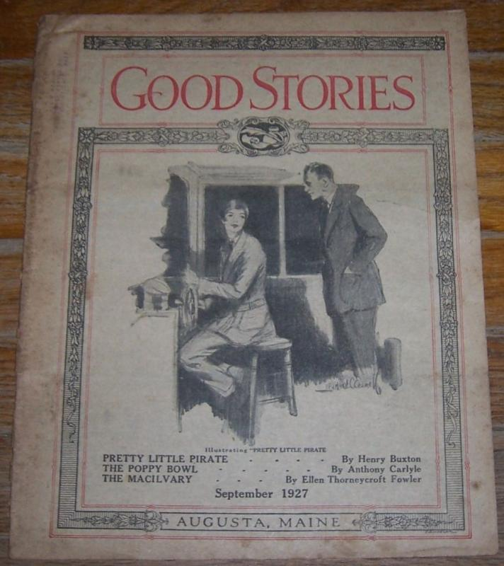 Good Stories Magazine September 1927 Vintage Fiction, Poetry, Recipes, Household