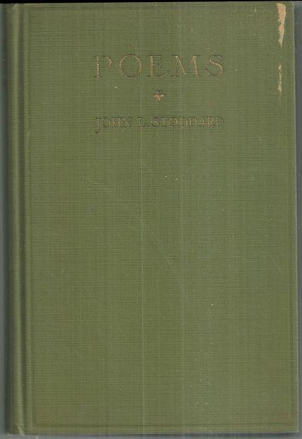 Poems by John Stoddard 1923 Poetry Book
