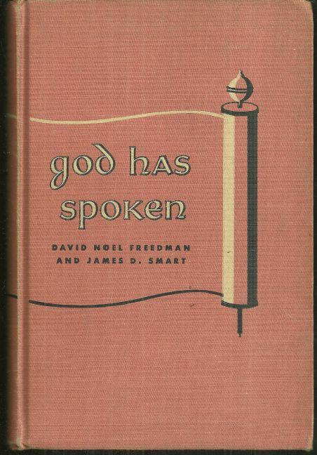 God Has Spoken an Introduction to the Old Testament for Young People 1959 1st ed