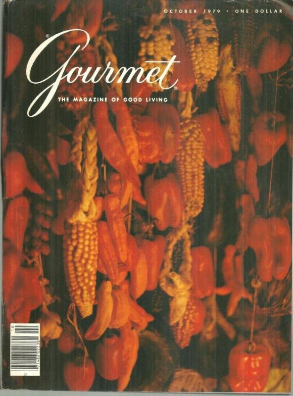 Gourmet Magazine October 1979 Lima/Eggs/Seattle/Skate/Omelets/Cauliflower/Duck