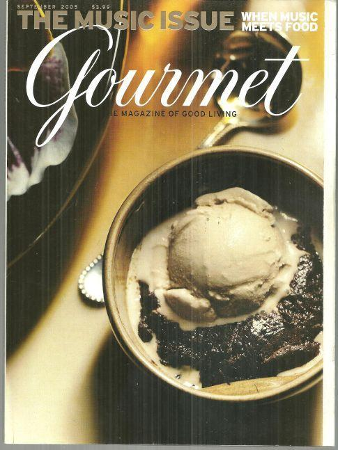 Gourmet Magazine September 2005 The Music Issue/Music Chef's Play in the Kitchen