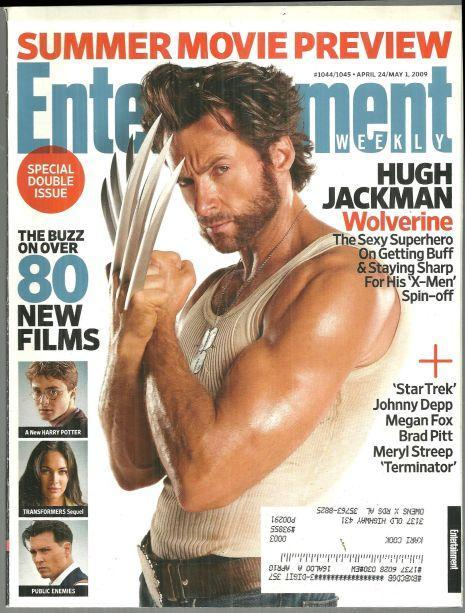 Entertainment Weekly Magazine April 24/May 1, 2009 Wolverine on the Cover