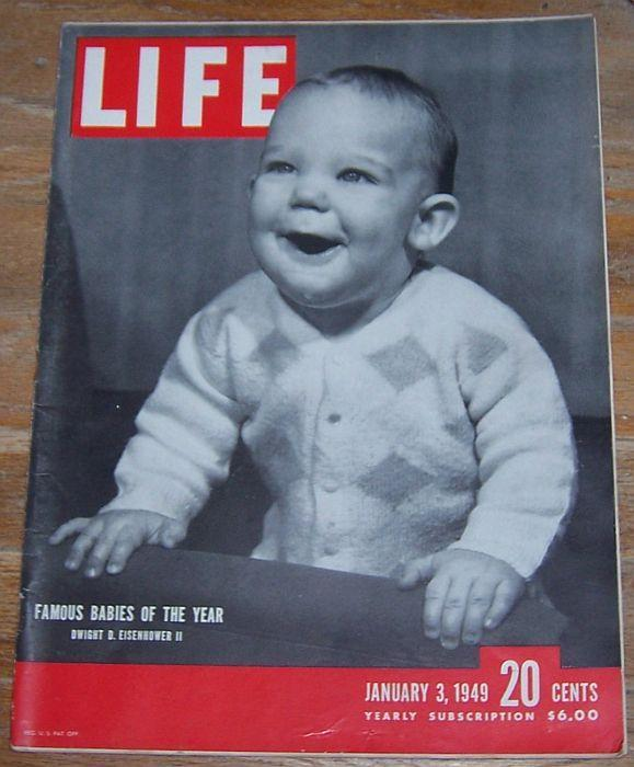 Life Magazine January 3, 1949 Celebrities' Babies/Sea Cloud/Charles Boyer