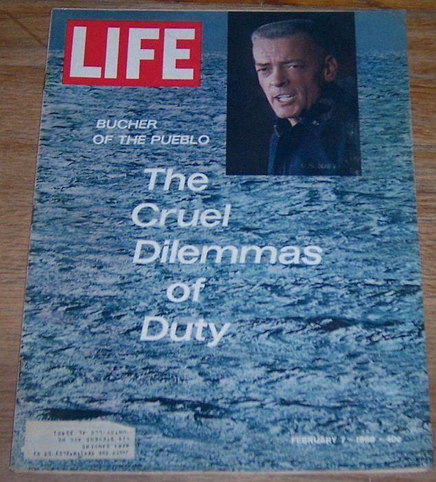 Life Magazine February 7, 1969 Bucher of the Pueblo on cover/AIr Pollution