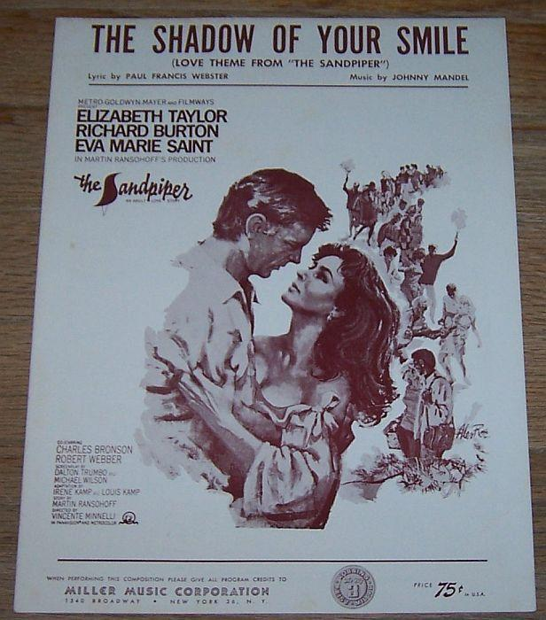 Shadow of Your Smile, Love Theme from the Sandpiper Starring Liz and Dick 1965