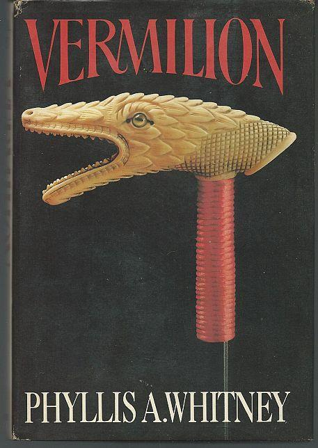 Vermilion by Phyllis Whitney 1981 1st edition Gothic Mystery with Dust Jacket
