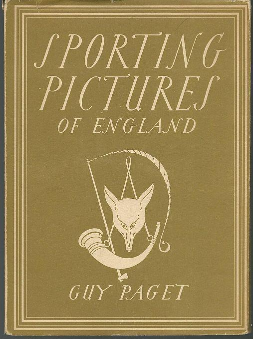 Sporting Pictures of England by Guy Paget Britain in Pictures Series 1946 w/ DJ