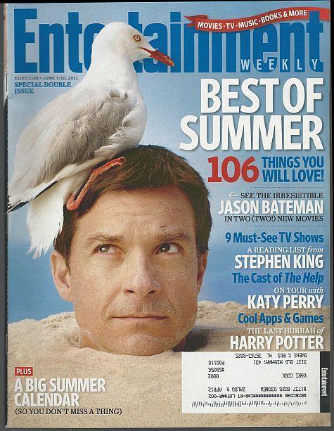 Entertainment Weekly Magazine June 3/10, 2011 Jason Bateman on the Cover