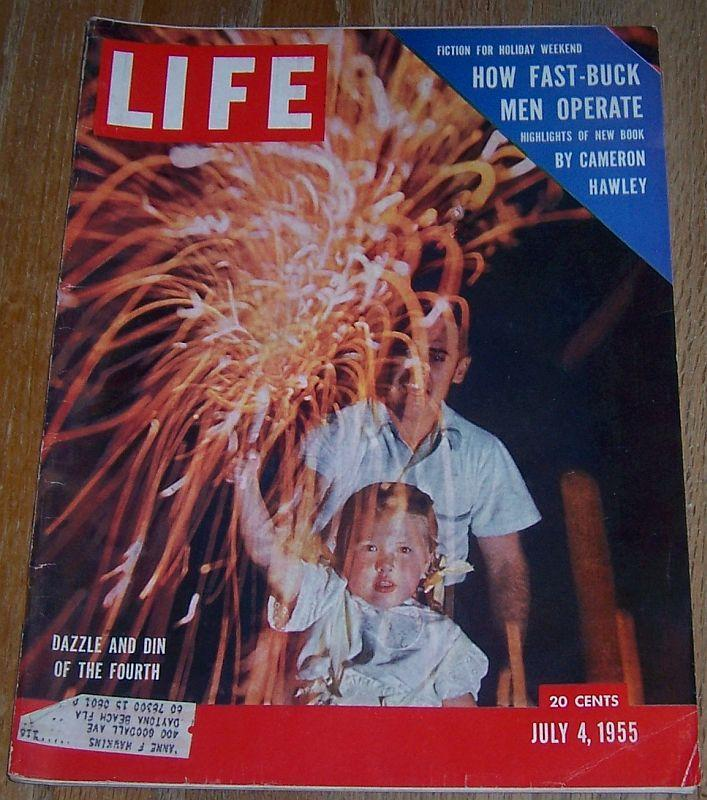 Life Magazine July 4, 1955  Fourth of July/UN 10th Anniversary/Founding Fathers