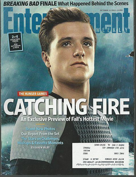 Entertainment Weekly Magazine October 11, 2013 Catching Fire on Cover/Jared Leto
