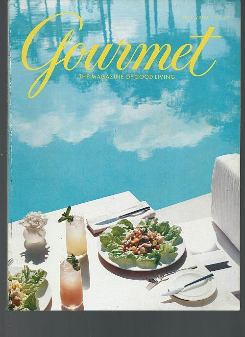 Gourmet Magazine May 2002 Special Issue The Magic of Water/New Orleans/Mauritius