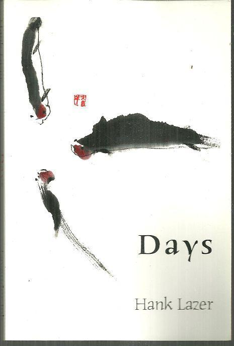 Days by Hank Lazer 2002 Small Press Poetry